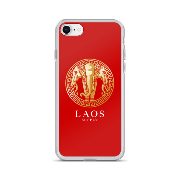 Golden Elephant iPhone Case