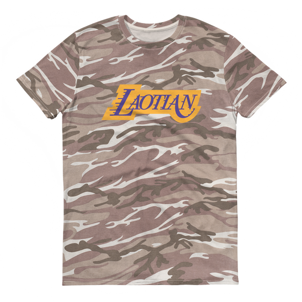 Laos Angeles camouflage t-shirt