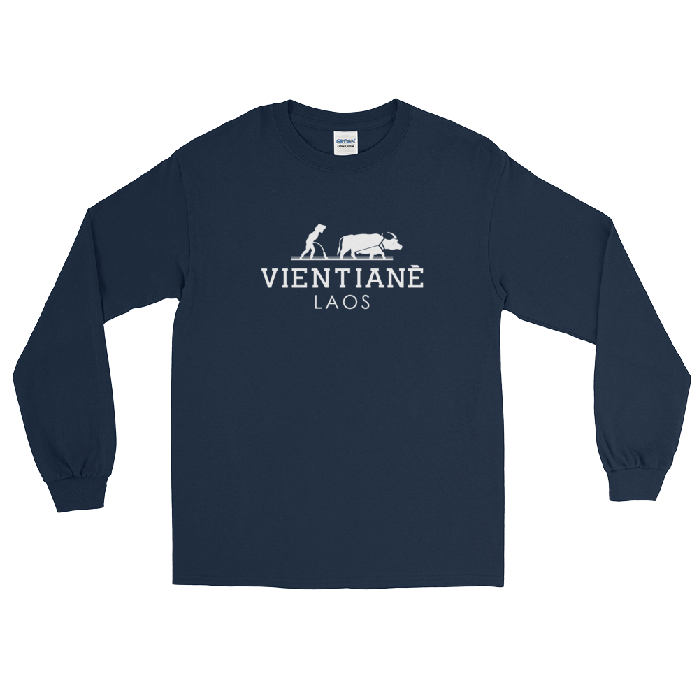 Vientiane Water Buffalo Long Sleeve T-Shirt