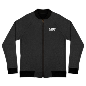 Laos OG Embroidered Logo Bomber Jacket