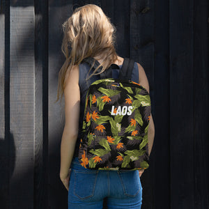 Birds of Paradise All-Over Print Backpack