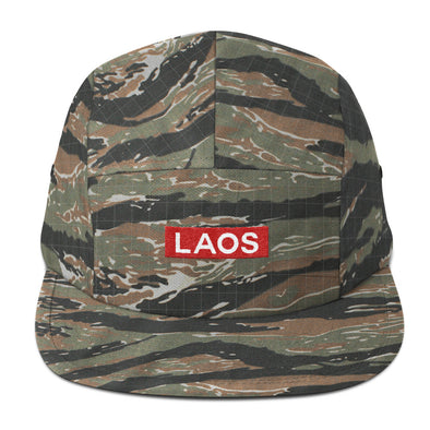 Laos Box Logo Five Panel Cap