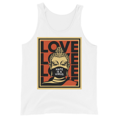 Hate Is A Virus Tank Top