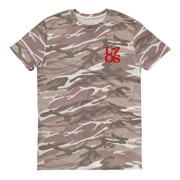 LAOS LOVE camouflage t-shirt