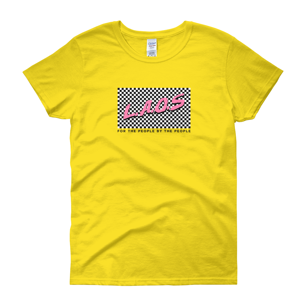 Laos Checker Women's t-shirt