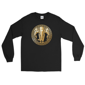 Golden Elephant Long Sleeve T-Shirt