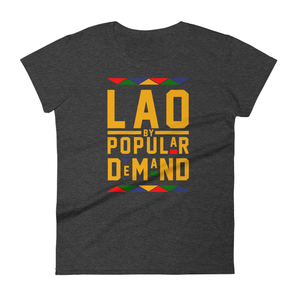 Laos By Popular Demand Women's short sleeve t-shirt