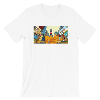 Monk March NYC T-Shirt