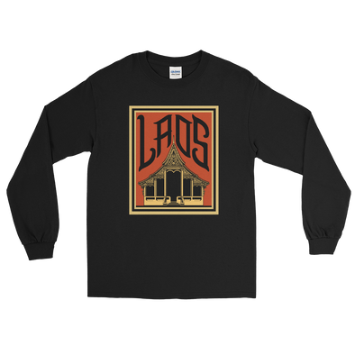 Lao Palace Poster Long Sleeve T-Shirt