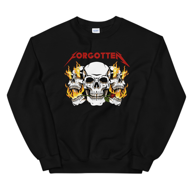 Forgotten Triple Skulls Sweatshirt