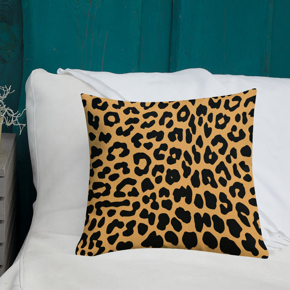 EHANEE Cheetah Print Premium Pillow