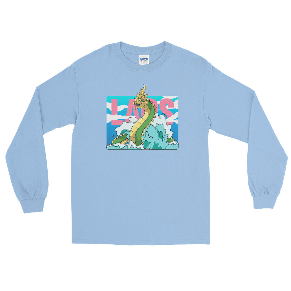 Naga Water Paint Long Sleeve T-Shirt