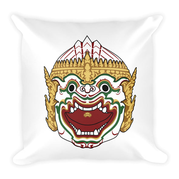 Monkey Warrior Basic Pillow