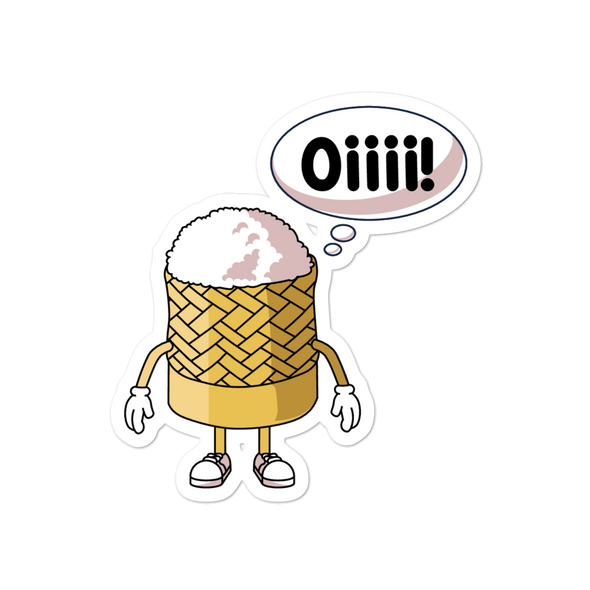 Character Oiii Bubble-free stickers