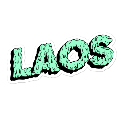 Laos Drip Bubble-free stickers