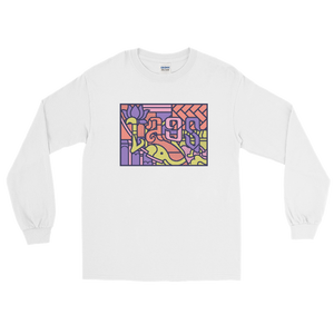 Laos Mural Long Sleeve T-Shirt