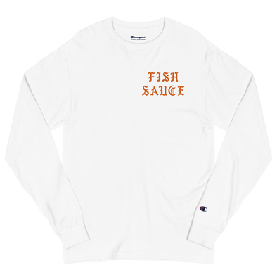 Fish Sauce Dreams 5 Men's Champion Long Sleeve Shirt