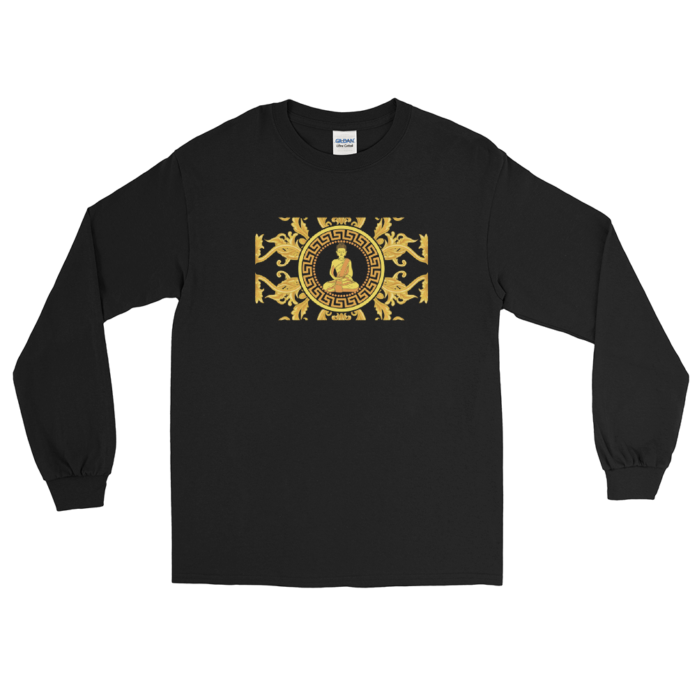 Golden Buddha Box Long Sleeve T-Shirt