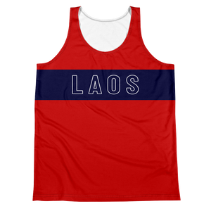 Classic Stripe Sublimated Tank Top
