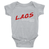 Laos DARE Logo Infant Bodysuit