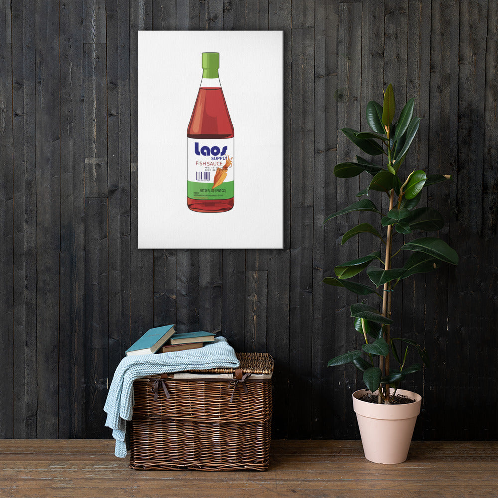 Nam Pa (Fish Sauce) Canvas