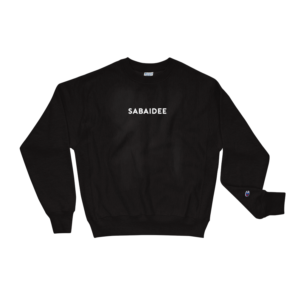 Sabaidee Basic Logo Champion Sweatshirt