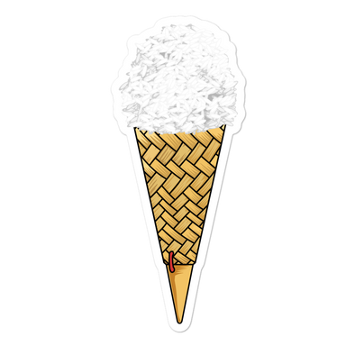 Thip Khao Ice Cream Cone Bubble-free stickers