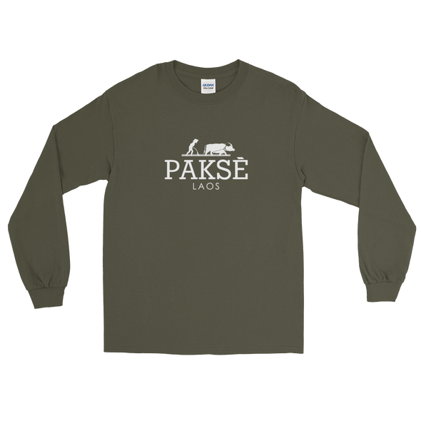 Pakse Water Buffalo Long Sleeve T-Shirt