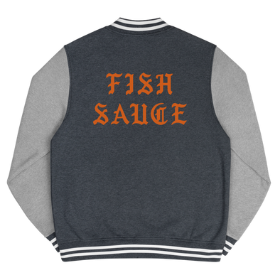 Fish Sauce Dreams 5 Men's Letterman Jacket
