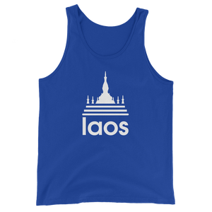 Laos Temple Stripes Tank Top
