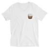 Sticky Rice V-Neck T-Shirt