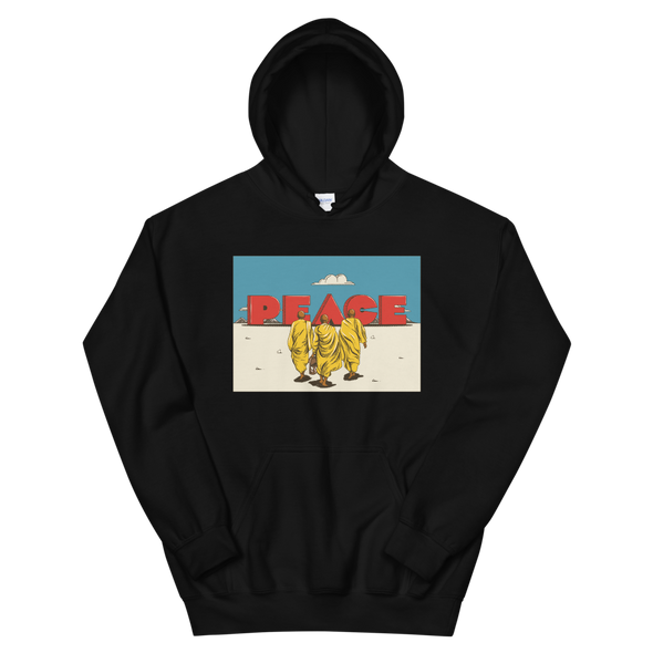 Monk March for Peace Hoodie