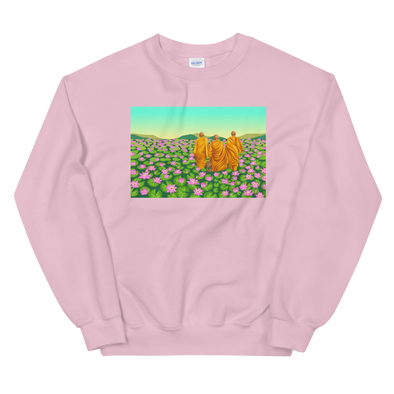 Monk March Lotus Field Sweatshirt