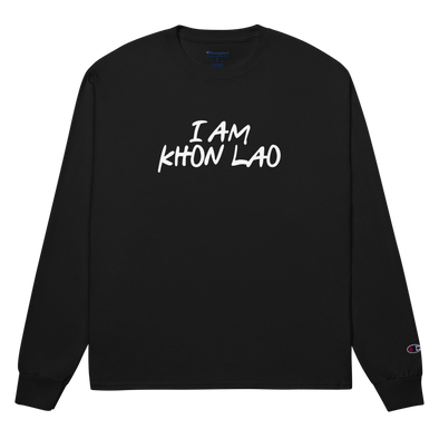 I Am Khon Lao Champion Long Sleeve Shirt