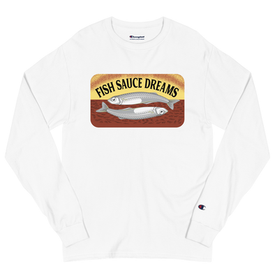 Fish Sauce Dreams 2 Men's Champion Long Sleeve Shirt