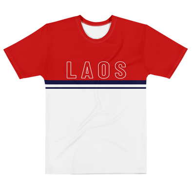 Laos outline All-Over Men's T-shirt