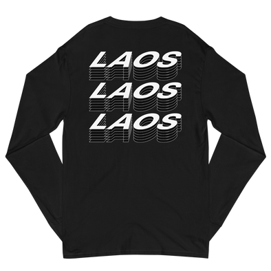 Laos Layer Men's Champion Long Sleeve Shirt