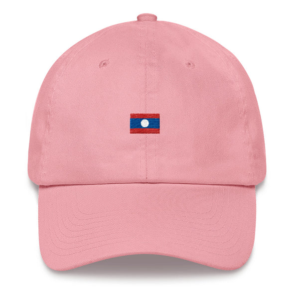 Laos Flag Dad hat