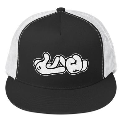 Lao Hand Sign Trucker Cap