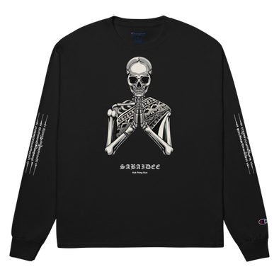 Sabaidee Pray Champion Long Sleeve Shirt