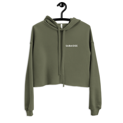 Personalize Your Own Crop Hoodie