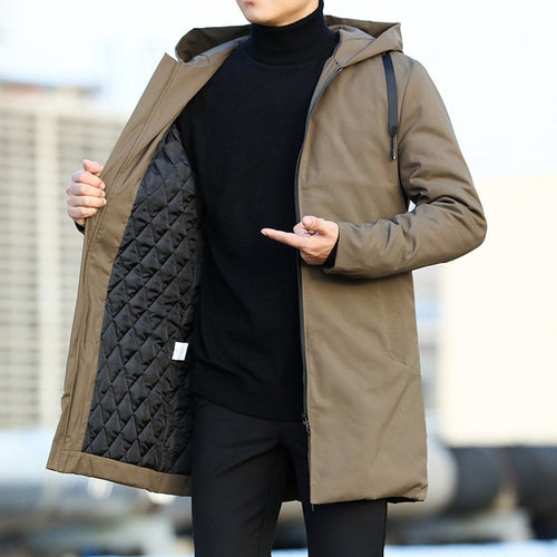 Men's Trench Coat Winter Collection