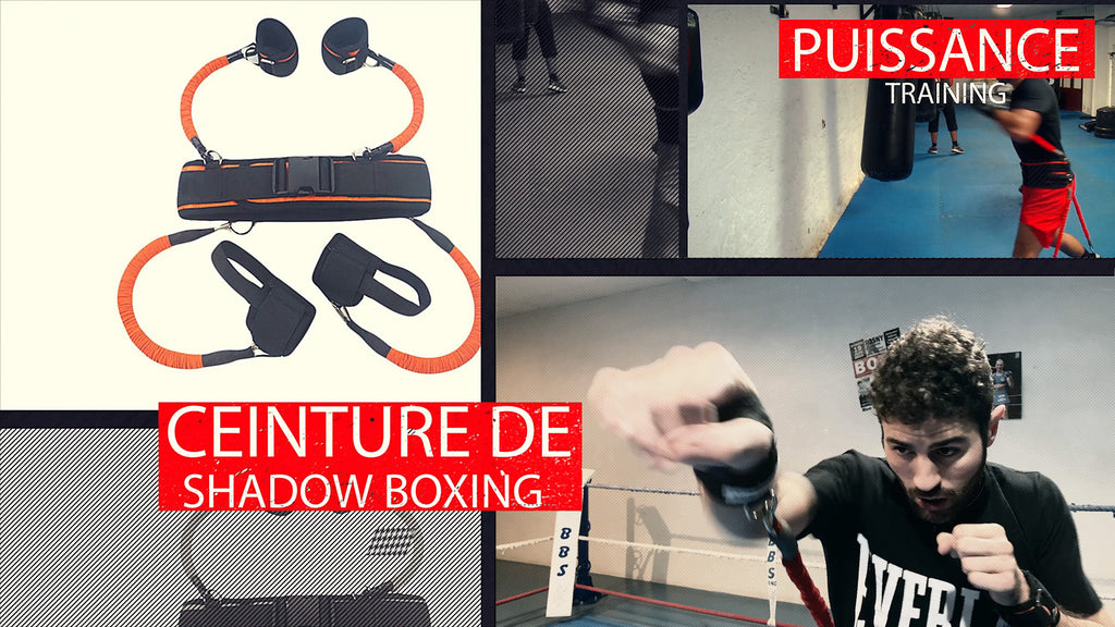 La ceinture de Shadow Boxing DTL