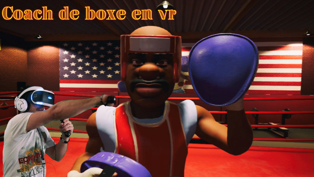 Un coach de boxe en réalité virtuelle / Knockout league VR