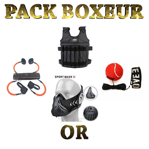 Pack boxeur or