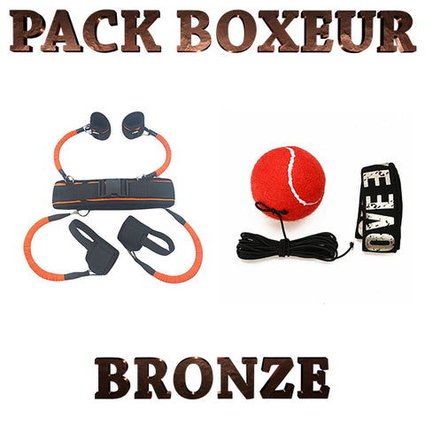 pack boxeur bronze
