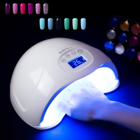 lampe uv led ongle semi permanent