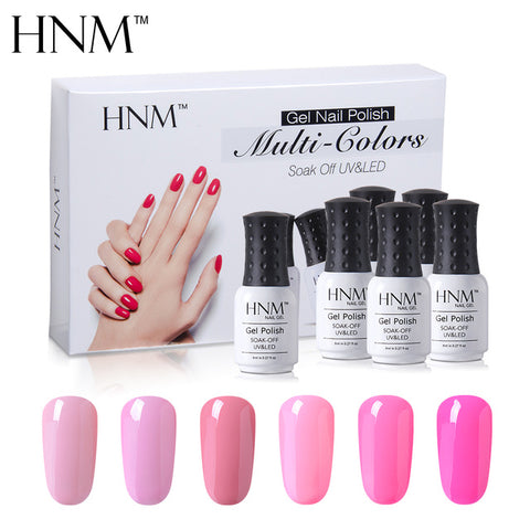 lot vernis semi permanent rose