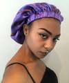 Satin Bonnets  - Double Layered - REVERSIBLE
