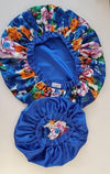 Double Sided Satin Bonnet - KIDS - Reversible - ThandiWrap